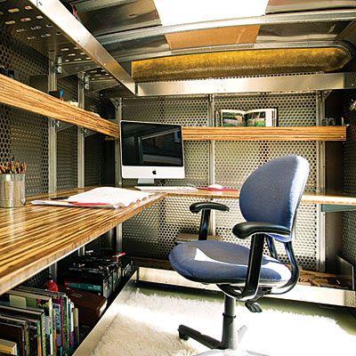 Shedworking: Mobile Landscape Architectu0027s Office