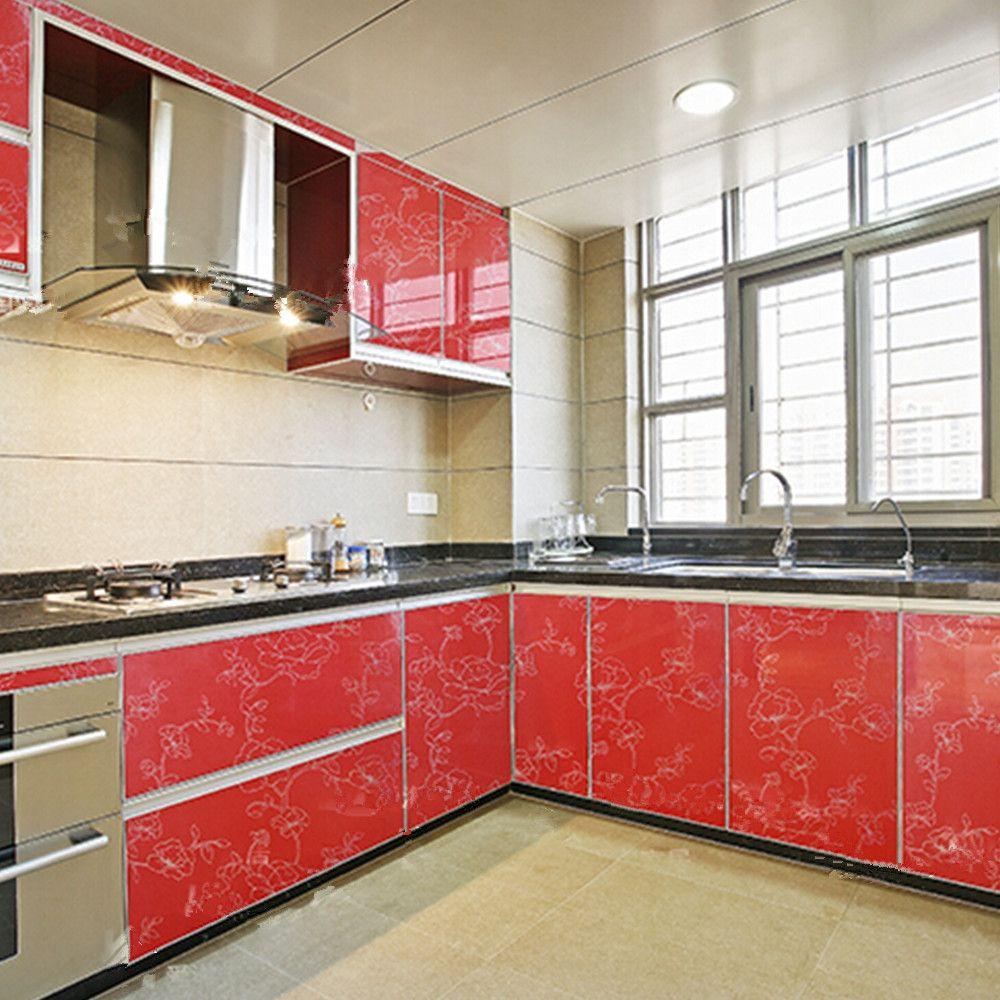 Vinyl Wallpaper For Kitchen European kitchen