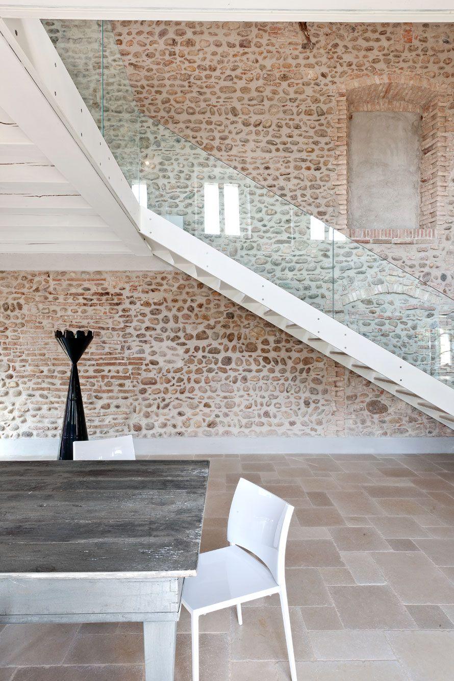 Muro Fatto In Pietra le case di elixìr. l'interior design s'è fatto rivista