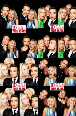 One Direction This Is Us Premiere Photobooth   One Direction