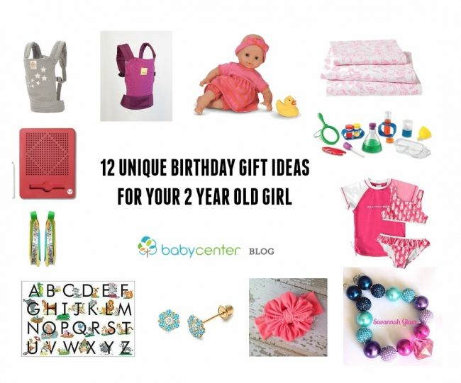 12 Unique Birthday Gift Ideas For Your 2 Year Old Girl