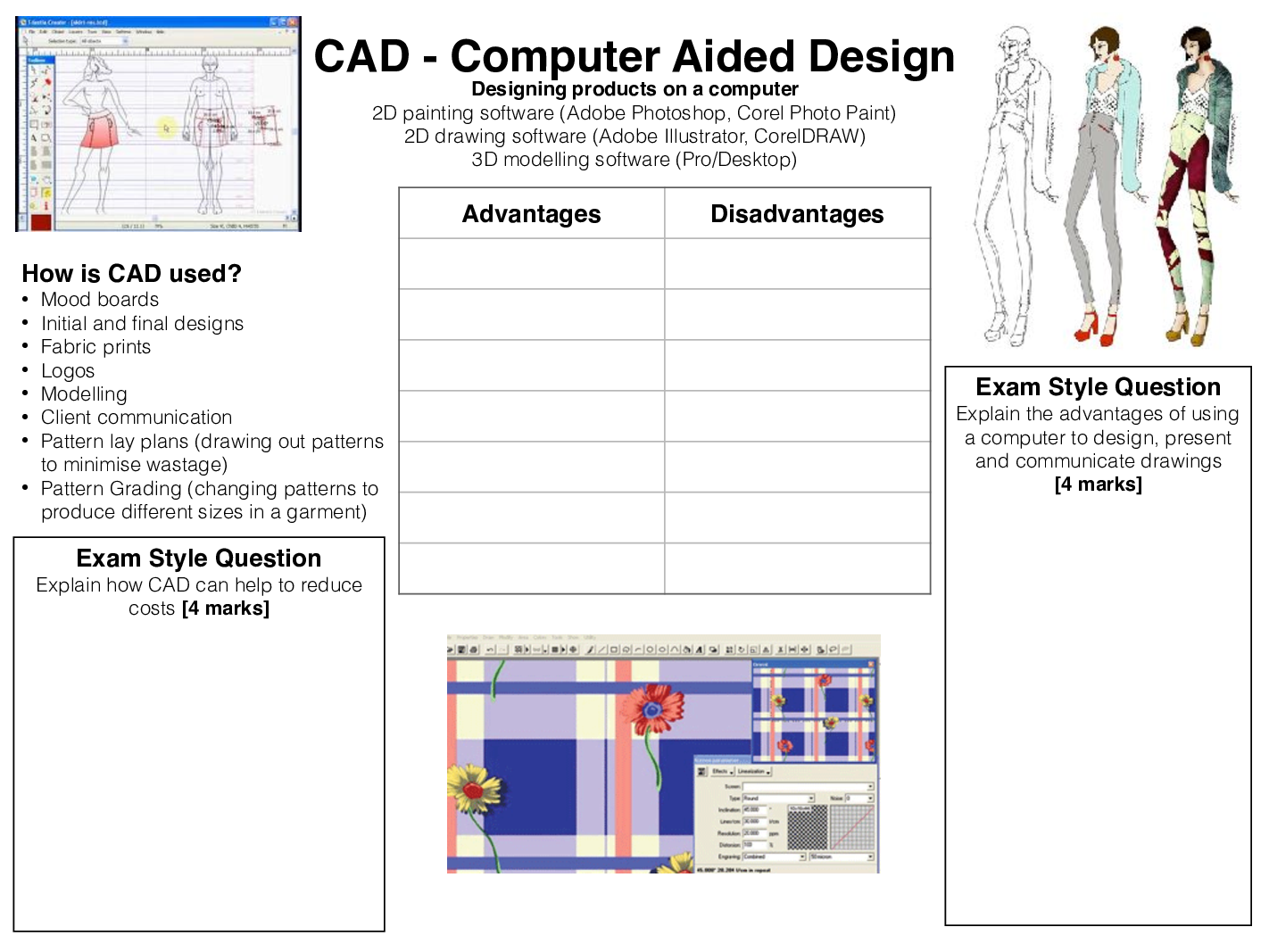 Gcse Textiles Technology Revision Worksheets With Images