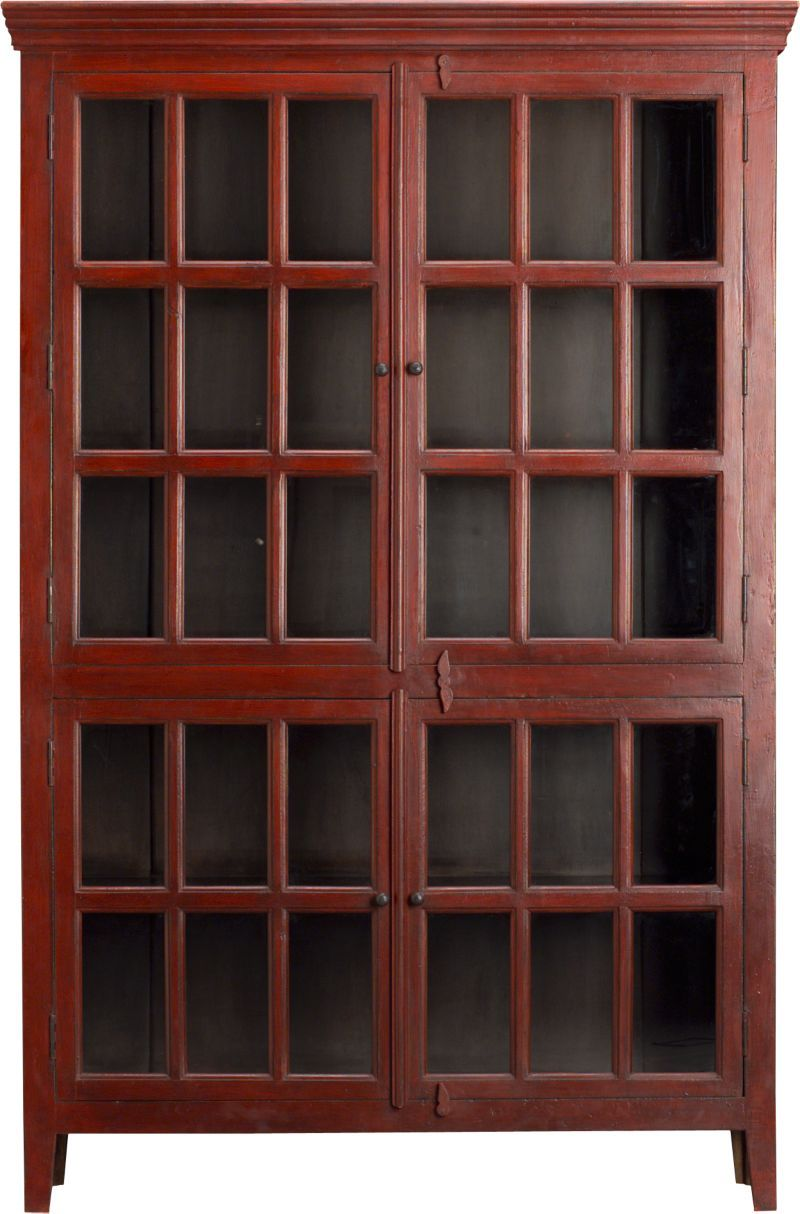 Rojo Tall Cabinet Storage Crate And Barrel