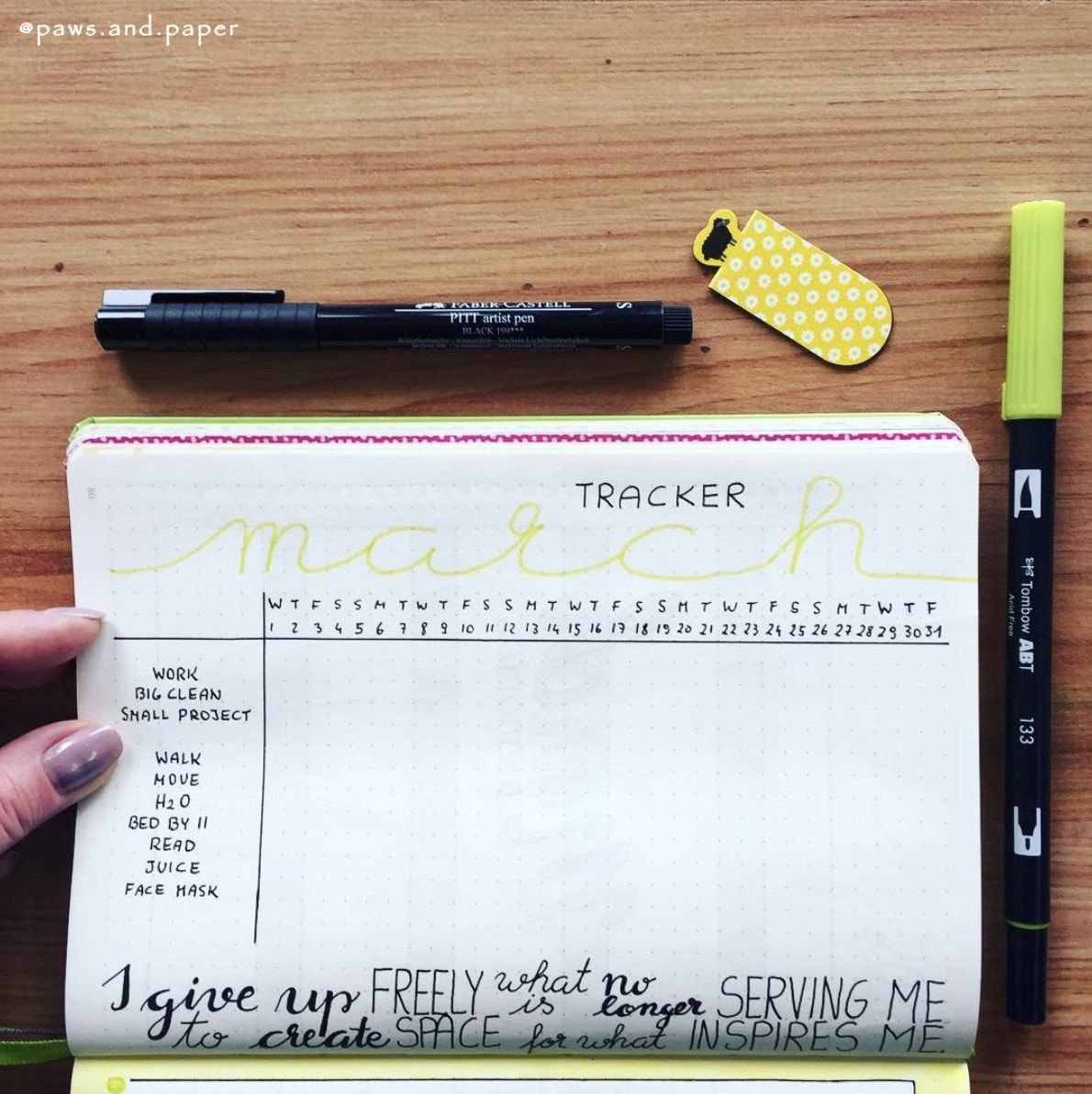 Ready to finally become a better you?! #bulletjournal #bujo