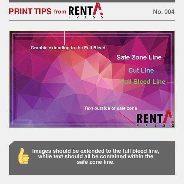 Learn how to use safe zone, cut line, and full bleed line