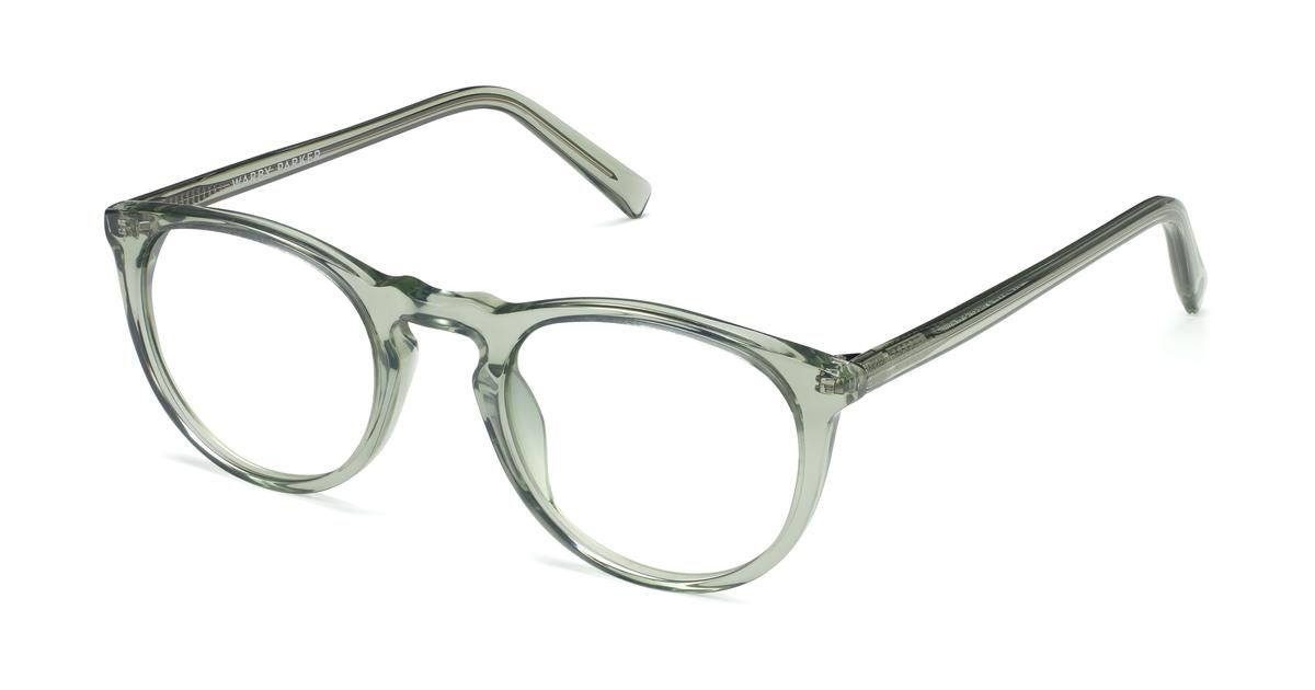 e7f32456cf46 Haskell Limited Edition Eyeglasses in Aloe Crystal for Women | Warby Parker