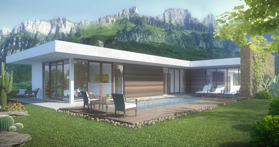 Contemporary House Plans With Photos Wf2studio Modern Plan Collection Large Image Modern Style House Plans Modern Exterior House Designs Modern House Plans