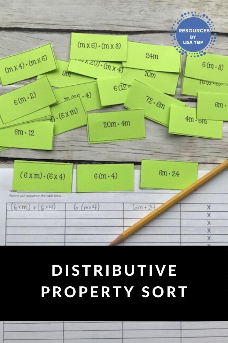 Help Students Understand The Distributive Property Of Multiplication Bette Distributive Property Distributive Property Of Multiplication Middle School Literacy [ 1102 x 735 Pixel ]