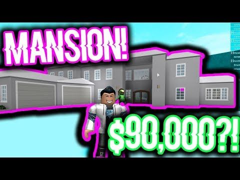 MOST AFFORDABLE MODERN MANSION IN ROBLOX BLOXBURG! (Less than $90000!) - YouTube