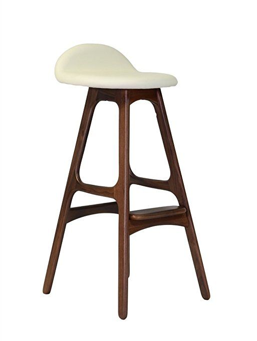Amazon Design Tree Home BS7279B WH Mid Century Bar Stool 31