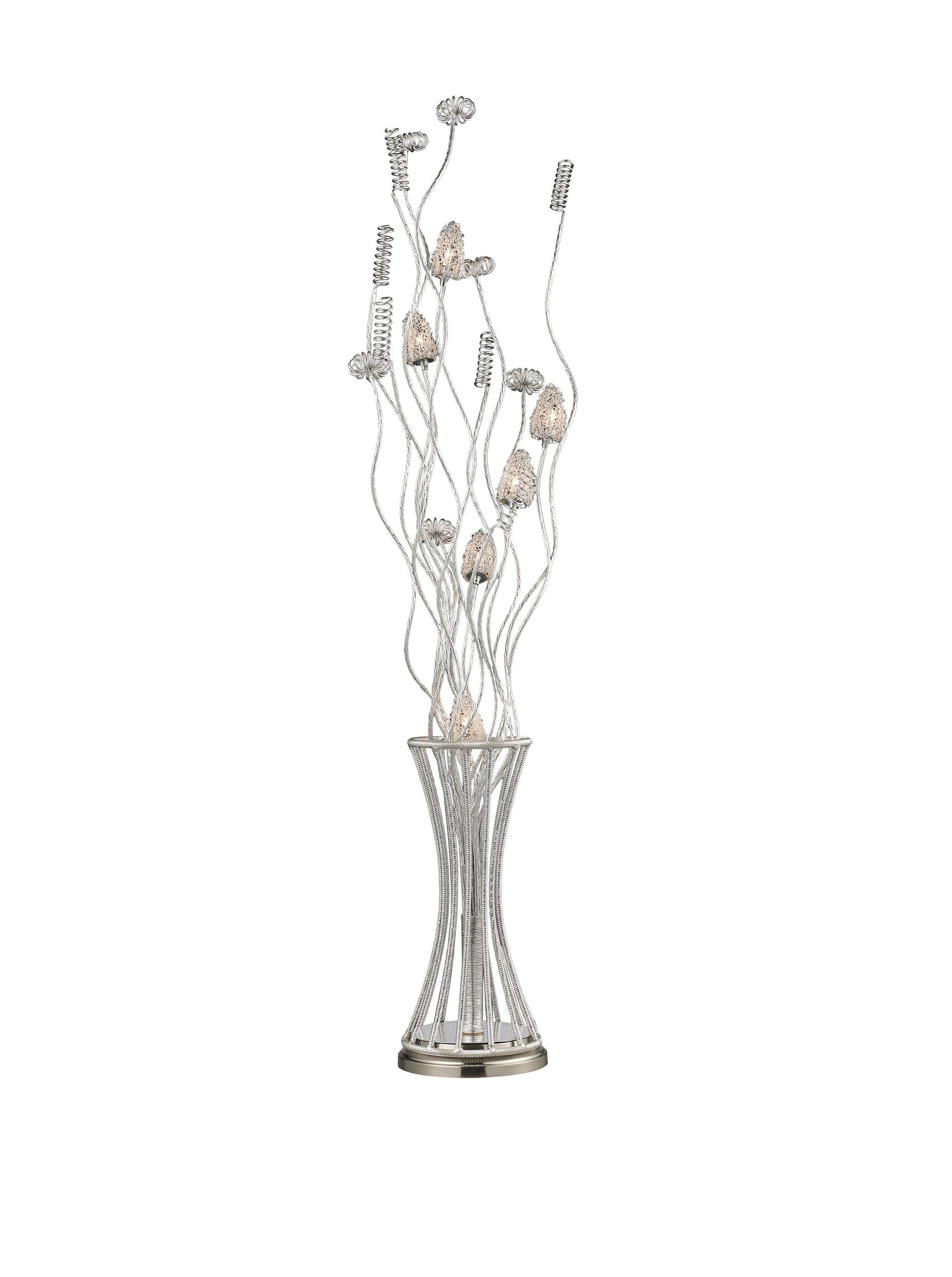artistic lighting cyprus grove floor lamp satin nickel at myhabit