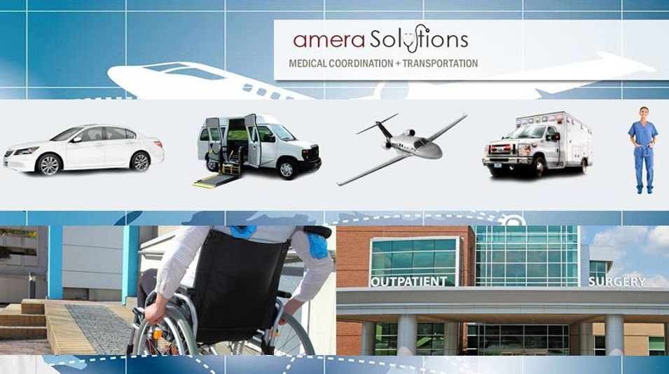 Amera Medical Transportation Solutions works as the