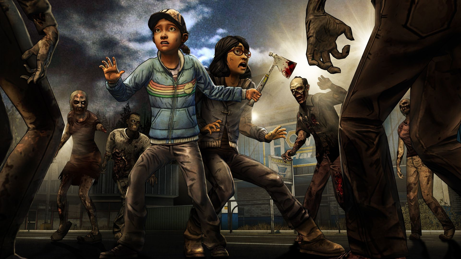 The Walking Dead Game: Season 2 Episode 3 Clem and Sarah