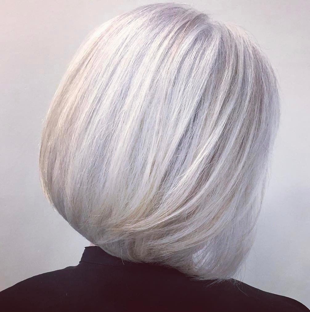 50 age defying hairstyles for women over 60 grey hair
