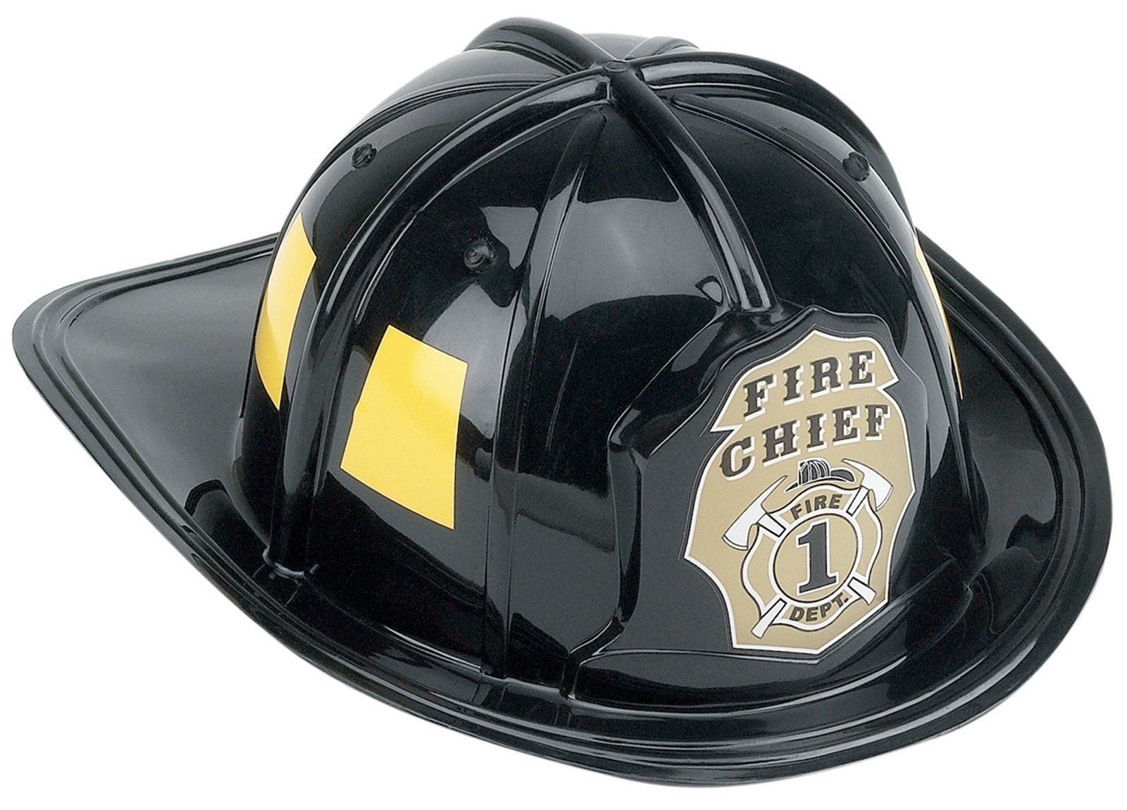 Child Fire Fighter Man Chief Firefighter Fireman Red Plastic Helmet Costume Hat