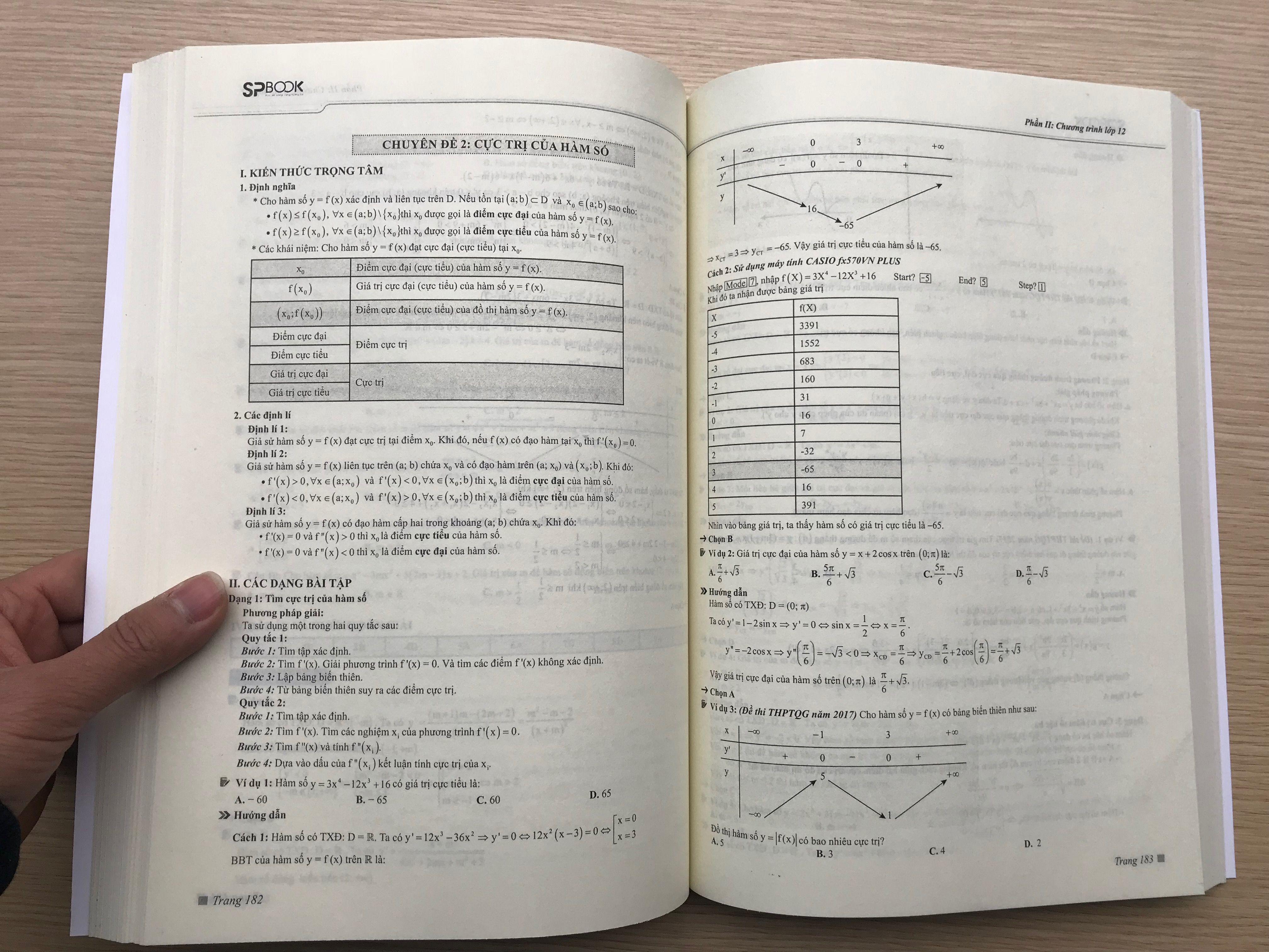 Các dạng bài tập toán đa dạng