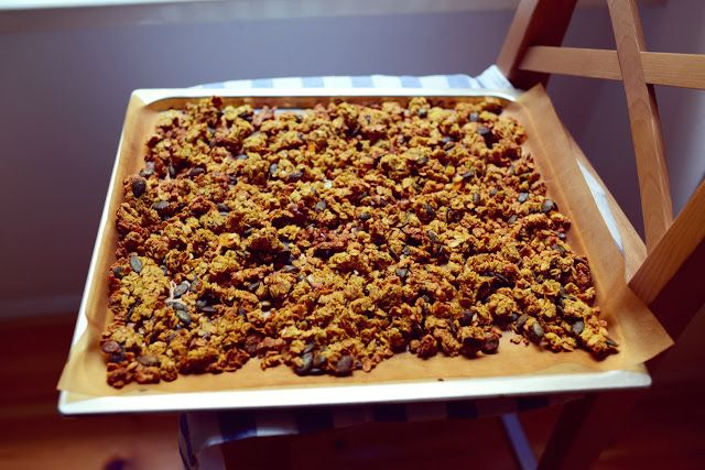 idafrosk: the food art blog: The Perfect Healthy Pumpkin Granola!