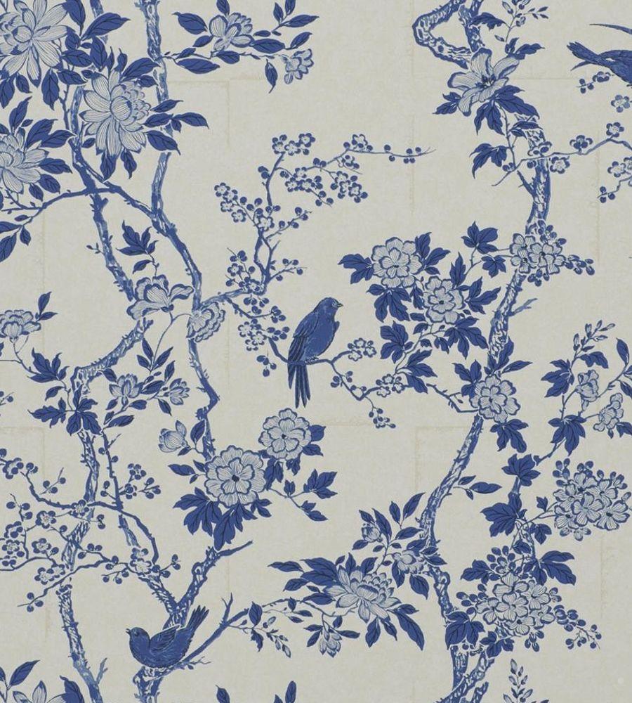 Ralph Lauren Marlowe Floral Porcelain Wallpaper Prl048 05