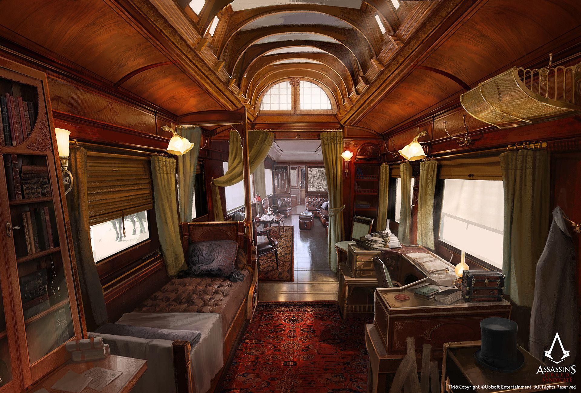 ArtStation - Assassin's Creed Syndicate /// Jacob's carriage, David Alvarez