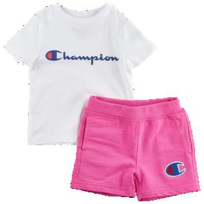 016d2fcb9 Champion Heritage 2-Piece Shorts Set - Girls  Toddler