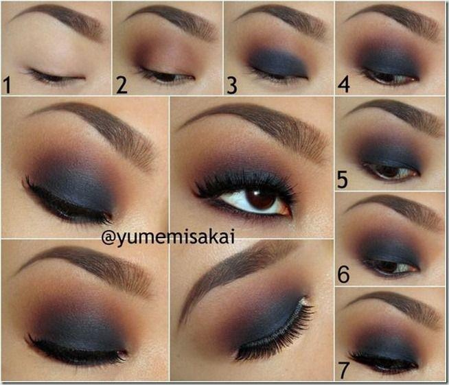 Machiaj Smokey Eyes Pas Cu Pas 9 Make Up Tutorials Smokey Eyes