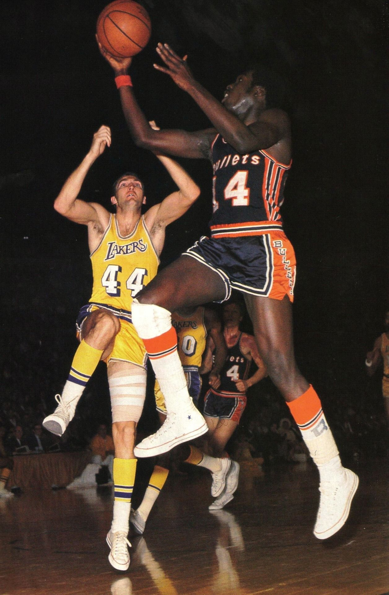 Earl Monroe v Jerry West Basketball players, Basketball