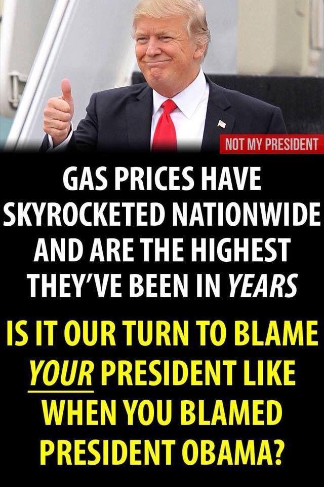 0e4277cfe79140e82149d3db890fc764 up to $4 00 a gallon thanks to corrupt trump idiot in chief