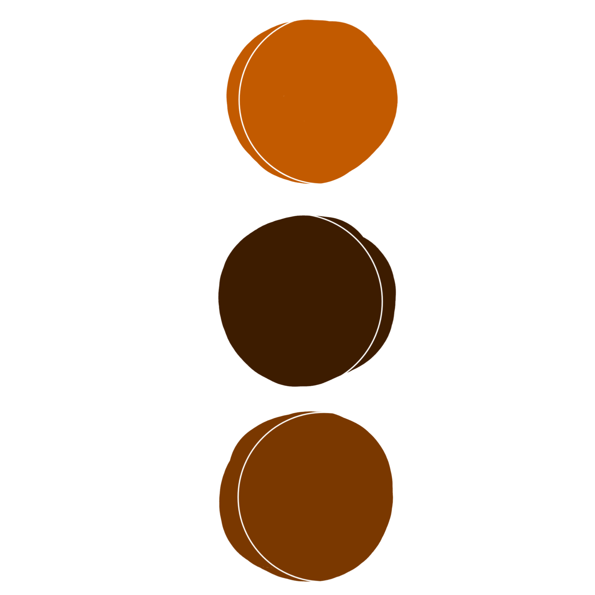 Sage And Brown Color Schemes: #colors # Color #aesthetic #circle #circle # Brown #tumblr