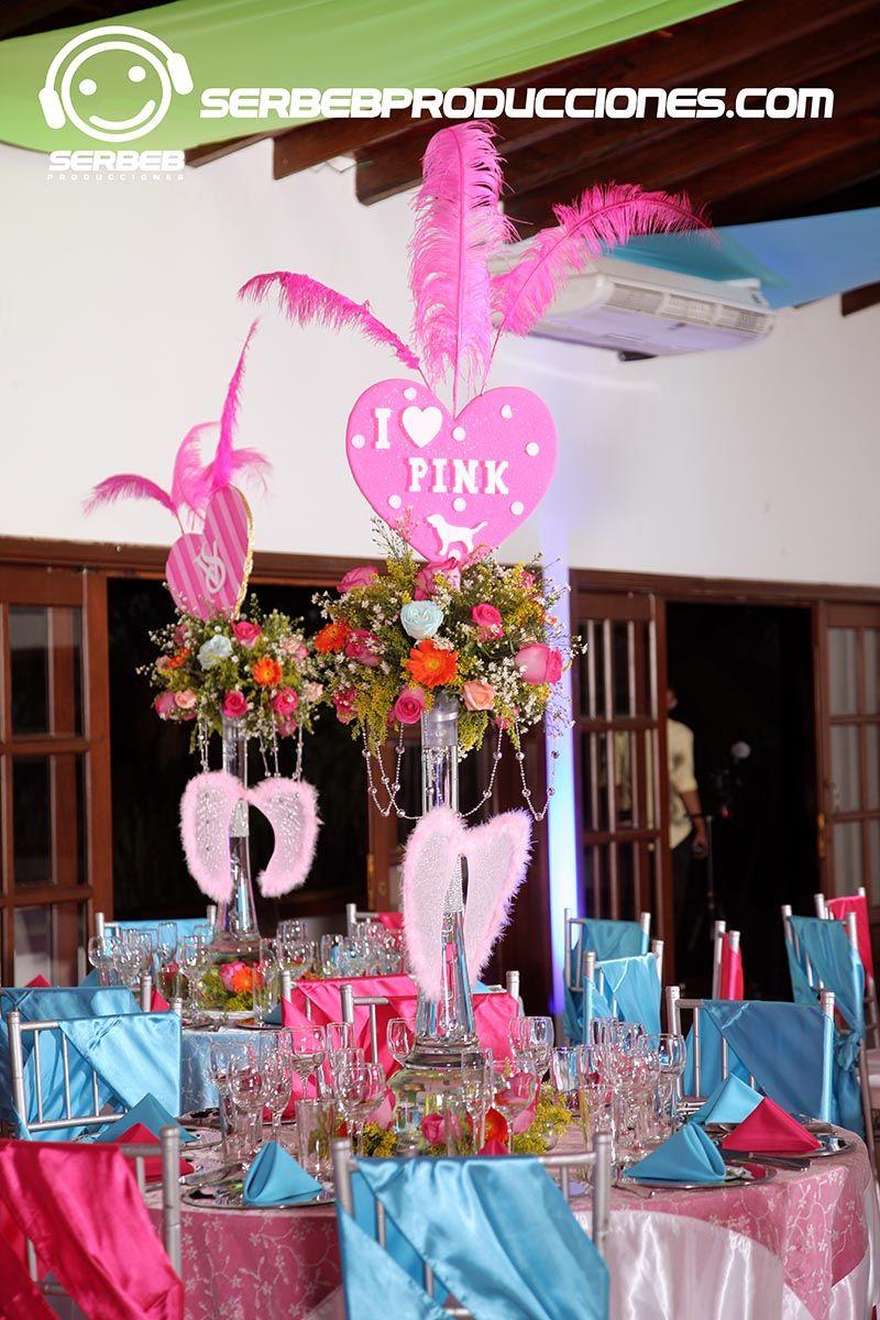 Fiesta Temáticas de 15 Años en Cali, Temática Love Pink, Hacienda ...