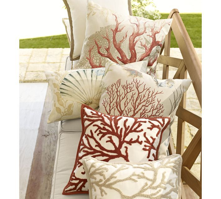 barn pulitzer coral indoor pottery outdoor products embroidered lilly c pillow