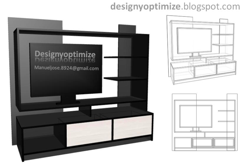 Dise os de cocinas armarios y muebles en general for Programa para hacer planos de muebles