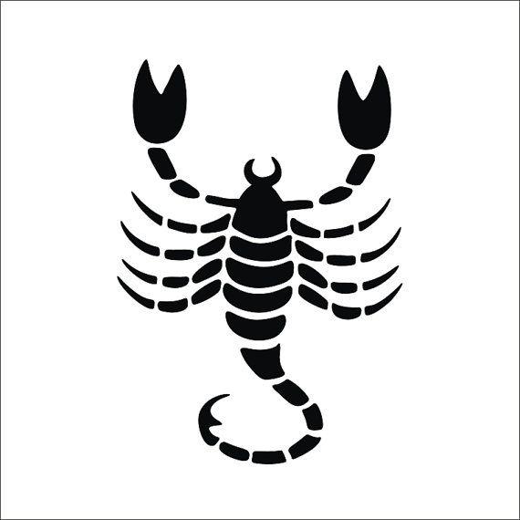 SCORPIO SVG Clipart Scorpion Iron on Transfer Scorpion svg Laser