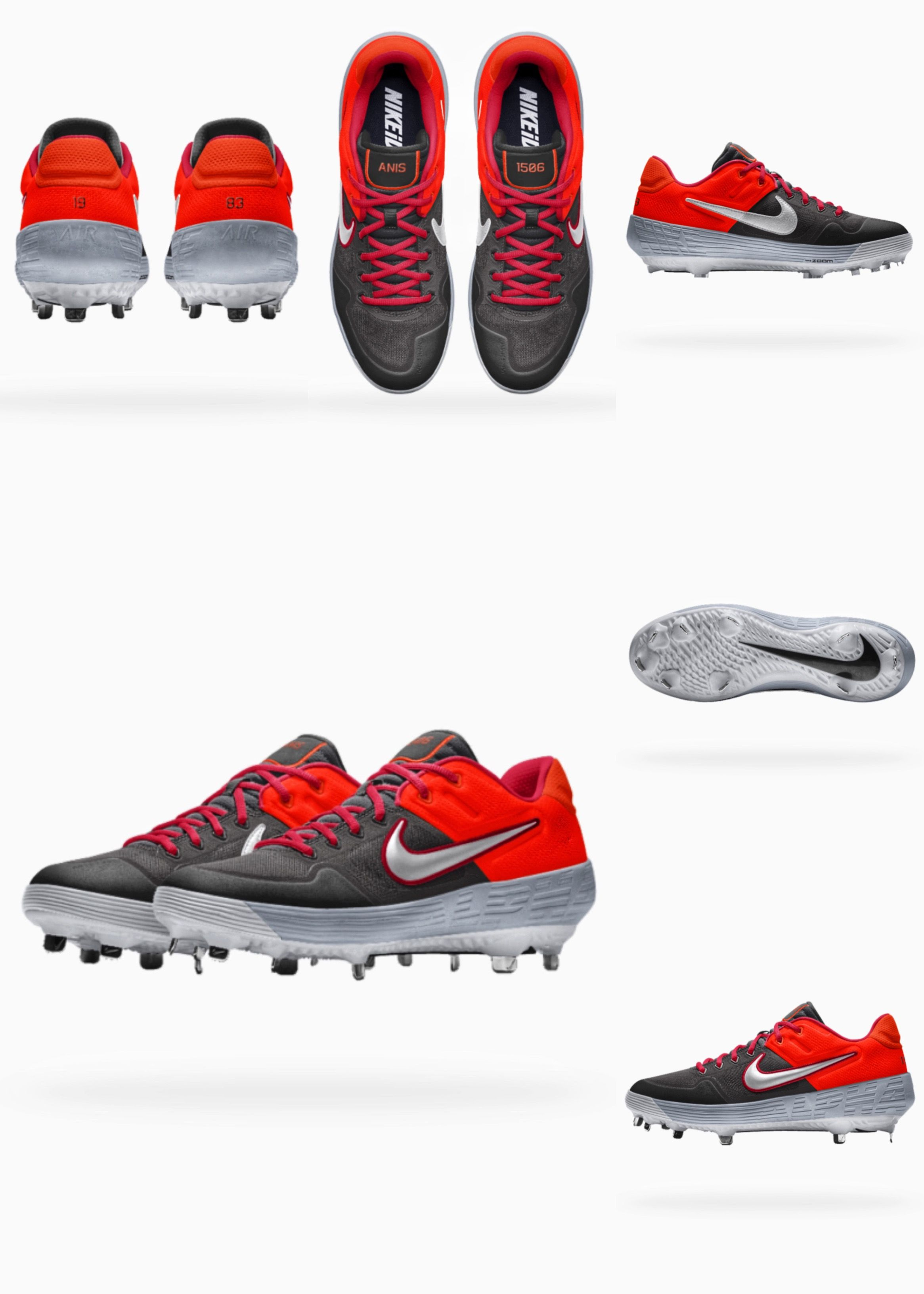 4d512c9046 Nike Alpha Huarache Elite 2 Low MCS iD | NikeiD | Sneakers nike ...