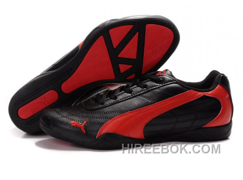 99de008d5871f9 Mens Puma Future Cat 0118 Black Red Christmas Deals