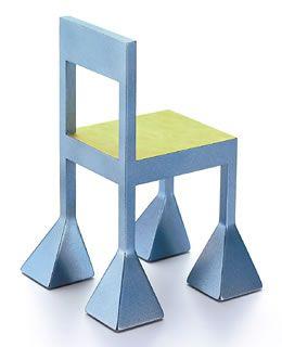 Vitra Miniature Alessandro Mendini Spaziale Chair Sillas