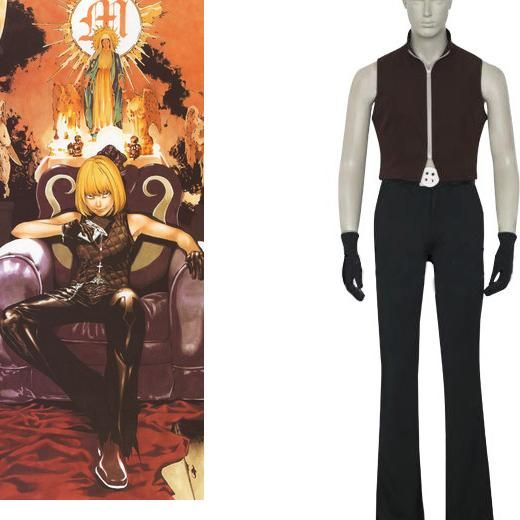 C-cool Death Note Cospaly Mello Costume Sell Online