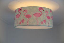 Kinderkamer Lamp Dolfijn : Plafondlamp rosa de flamingo mint wat een leuke kinder plafondlamp