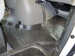 Husky Liners Classic Custom Auto Floor Liners Front Black
