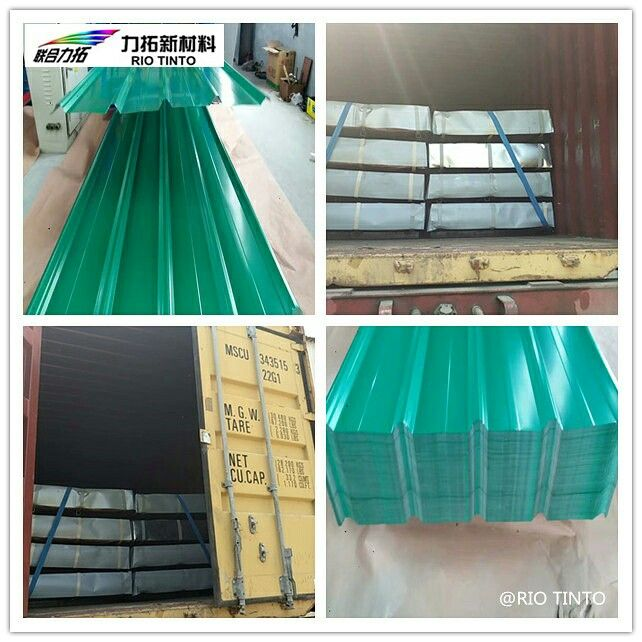 2017 1010 That Is The Ppgi Corrugated Roofing Sheet For Our Nigeria Customer The Size Is 0 15mm 680mm 2400 Corrugated Roofing Roofing Sheets Zinc Coating