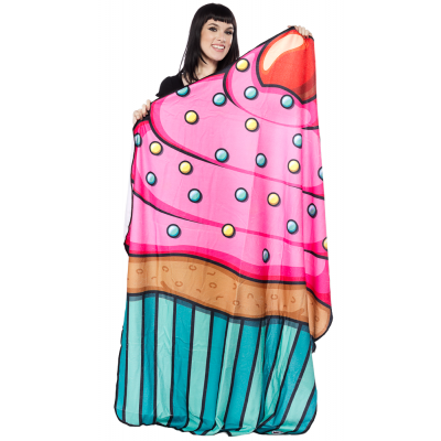 GIANT CUPCAKE BEACH BLANKET