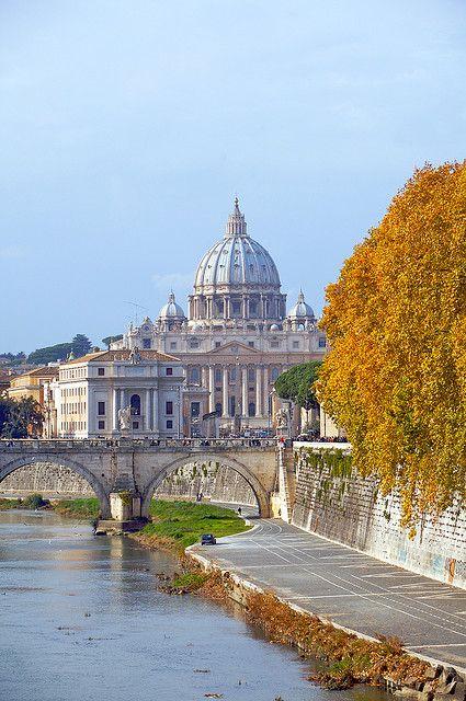 www.tektonministries.org #tekton #pilgrimage St Peter's Italy