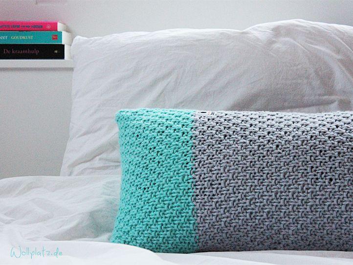 myboshi kissen stricken home deko pinterest kissen stricken wollplatz und kissen. Black Bedroom Furniture Sets. Home Design Ideas