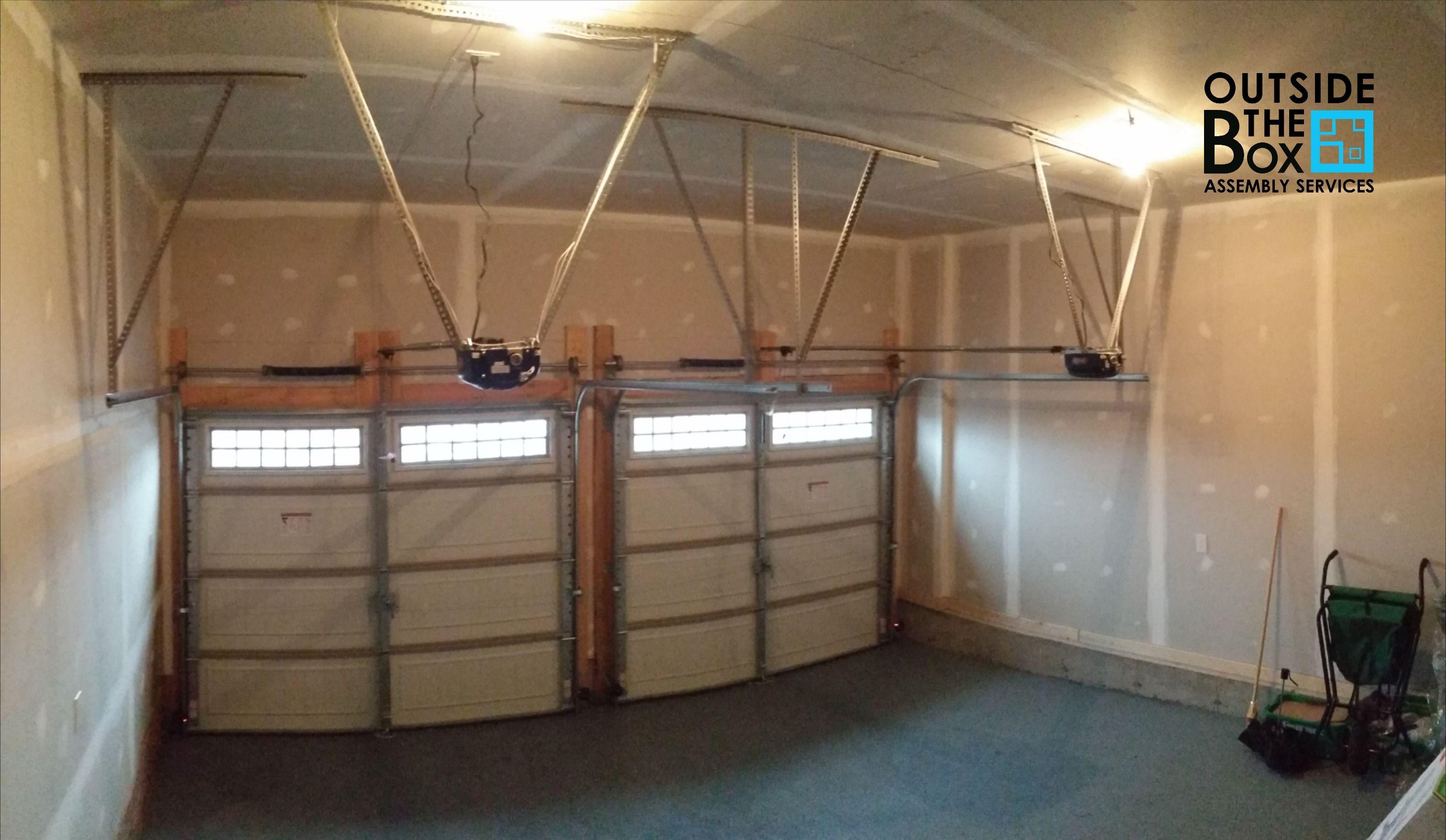 Garage Door Opener Installations In 2020 Garage Door Opener