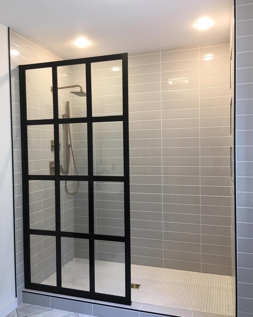 Gridscape Fixed Panel Shower Scren Found On Instagram