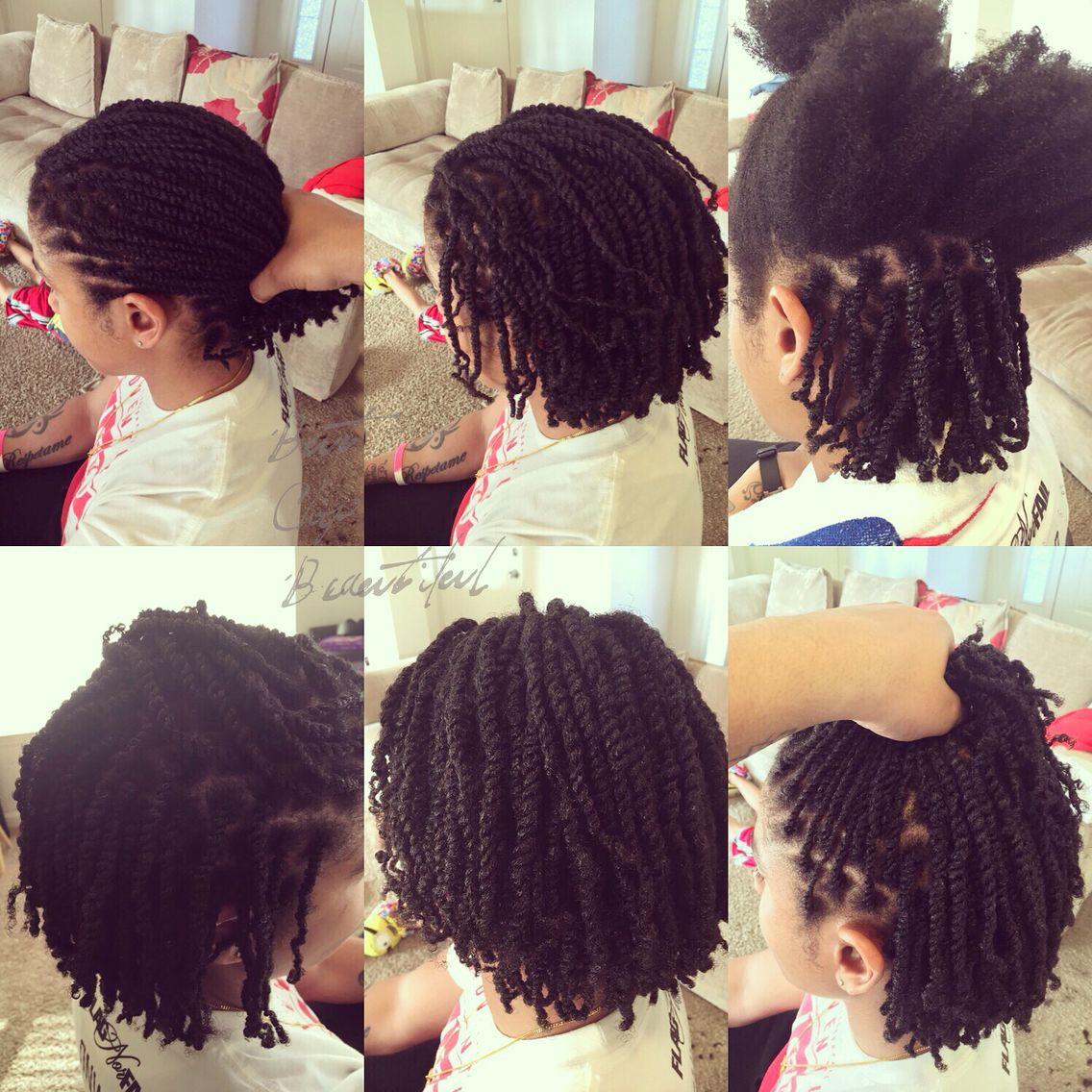 two strand twists on natural hair | natural hair | natural