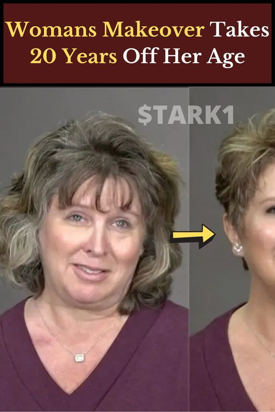Womans Makeover Takes 20 Years Off Her Age