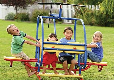 Heavy Duty Helicopter, Teeter-Totter