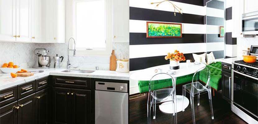Una cocina decorada con estilo chic y originalidad - http://www.decoora.com/una-cocina-decorada-estilo-chic-originalidad/