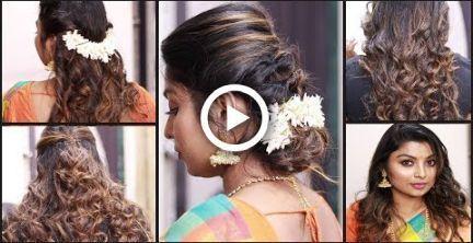 Hochzeitsfrisuren Gast #Hochzeit #Frisuren #Hochzeitsfrisuren 5 Easy Hairstyl …