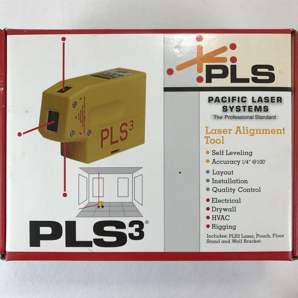 Pacific Laser Systems Pls3 Self Leveling 3 Point Laser Plumb Level Pls 60523 673740000038 Ebay Tools For Sale Ebay Laser Levels